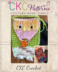 Dale's Crochet Tablet Pouch PDF Pattern