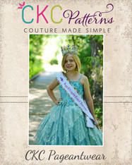 Aida's Royal Sash PDF Pattern