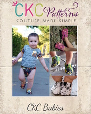 Gaga's Babies Shoes PDF Pattern