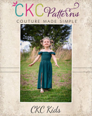 Patience's Dress and Maxi Sizes 2T to 14 Girls PDF Pattern
