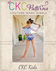 Romy's Radical Dancewear Sizes 2T to 14 Girls PDF Pattern