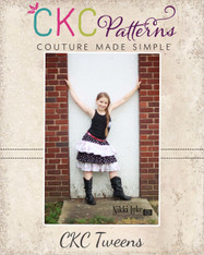 Amanda's Tween Triple Ruffle Skirt PDF Pattern