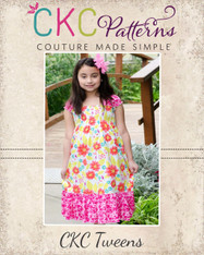 Faith's Tween Shirred Sundress PDF Pattern