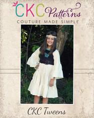 Hazel's Tween Hippie Dress PDF Pattern