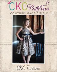 Paris' Tween Party Dress PDF Pattern