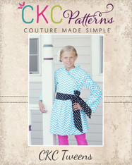 Willow's Tween Wrap Jacket PDF Pattern