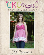 Anna's Women's Sweetheart Halter Top and Dress PDF Pattern