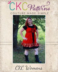 Cassidy's Women's Corset Cover Dress and Top PDF Pattern