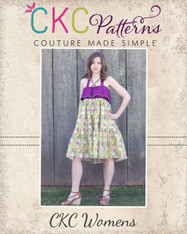Cora's Women's Tiered Top, Sun Dress and Maxi Dress PDF Pattern