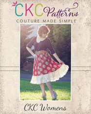 Harmony's Women's Twirly Lace Skirt PDF Pattern