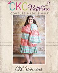 Hazel's Women's Plus Hippie Dress PDF Pattern