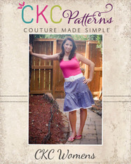 Lindsey's Women's Sweet Twirly Skirt PDF Pattern