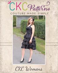 Primrose's Women's Ruffled Corset Princess Dress PDF Pattern