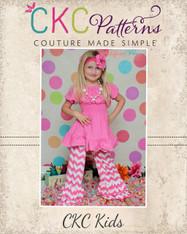 Jessica's Knit Ruffle Pants and Capris PDF Pattern