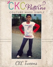 Kelsey's Tween Ruffled Leggings PDF Pattern