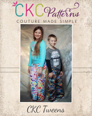 Taylor's Tween Pajama Pants PDF Pattern