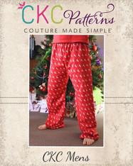Taylor's Adult Pajama Pants PDF Pattern