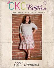Lindsey's Women's Plus Sweet Twirly Skirt PDF Pattern