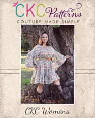Hazel's Women's Hippie Dress PDF Pattern