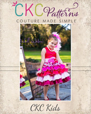 Francesca's Frilly Ruffle Dress PDF Pattern