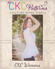 Heidi's Women's Hi-Low Peplum Shirt PDF Pattern