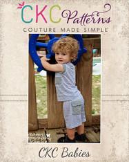 Greg's Baby Knit Shorts PDF Pattern