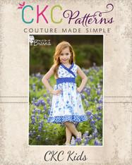 Clover's Criss Cross Top, Dress, and Maxi PDF Pattern