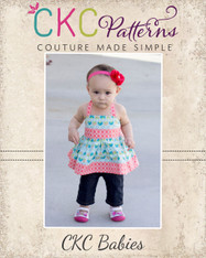 Hadley's Baby Halter Top, Dress, and Maxi PDF Pattern