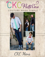 Emmett's Tie Set for Men & Tweens PDF Pattern