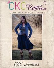 Victoria's Women's Ruffled Swirly Skirt PDF Pattern