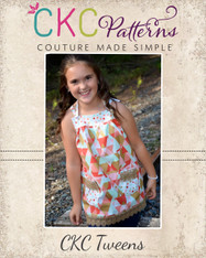 Allegra's Tween All-Purpose Pinafore Top PDF Pattern