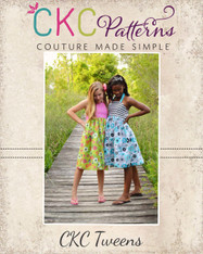 Amber's Tween Simple Halter Top and Dress PDF Pattern