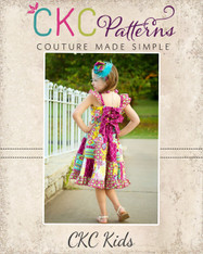 Skyler's Patchwork & Simple Skirt Twirl Dress PDF Pattern