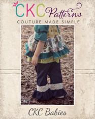 Jenna's Baby Lace Ruffle Pants and Capris PDF Pattern