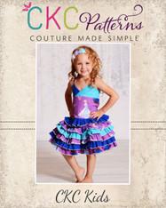 Stacy's Sassy Ruffle Skirt PDF Pattern