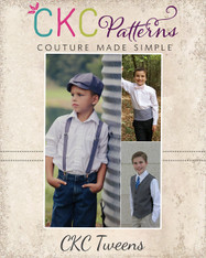 William's Tween Formal Accessory Pack PDF Pattern