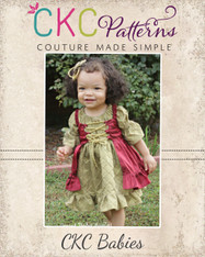 Cassidy's Baby Corset Cover Dress and Top PDF Pattern