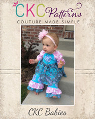 Nicolette's Baby Double Ruffle Pants and Capris PDF Pattern