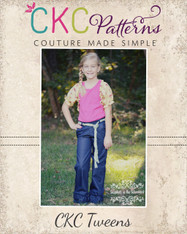 Clarissa's Tween Belted Pants and Capris PDF Pattern