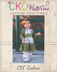 Malyn's Baby Pretty Peasant Dress PDF Pattern