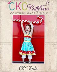 Cammy's Wrap Bodice Dress PDF Pattern