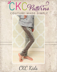 Priscilla's Ruched or Cuffed Leggings PDF Pattern