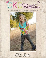 Delaney's Bib, Bow, and Band Top PDF Pattern