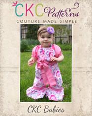 Autumn's Baby Peasant Romper PDF Pattern