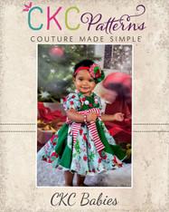 Violette's Baby Swirly Peasant Dress PDF Pattern