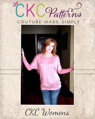 Donna's Women's Knit Dolman Top PDF Pattern