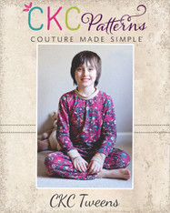 Josh's Tween Knit Pajamas PDF Pattern