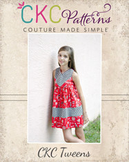 Maggie's Tween Perfect Color Block Dress and Tunic PDF Pattern