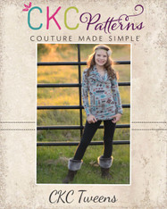 Evie's Tween Everyday Knit Top PDF Pattern