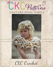 Clara Ruffle Capelet Crochet PDF Pattern
